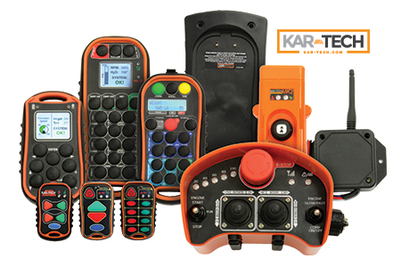 Kar-Tech Sensors, Radio Transmitters, Radio Receivers, Controllers, I/O Modules