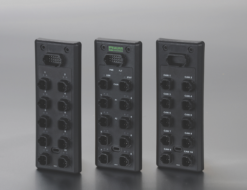 Murr extreme DB distribution block with ports for Deutsch connetctors