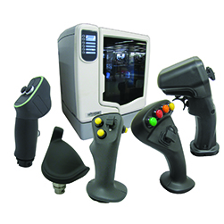 OEM Controls joysticks, controllers